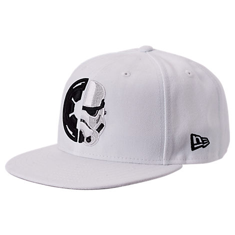 New Era Star Wars 9fifty Snapback Hat In White