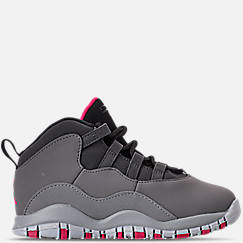 Girls' Toddler Jordan Retro 10 Basketball Shoes