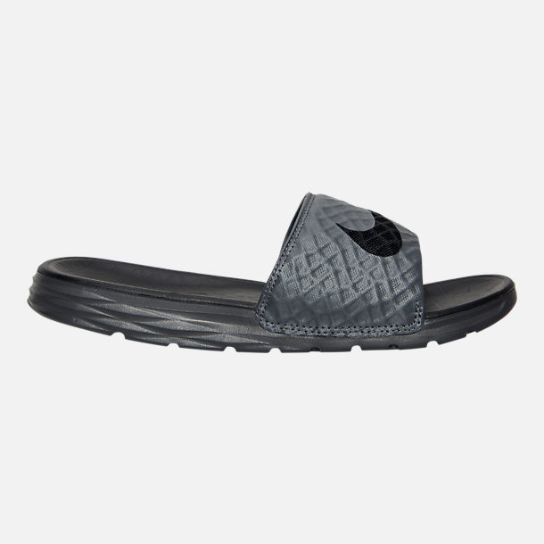 Right view of Men's Nike Benassi Solarsoft Slide 2 Slide Sandals