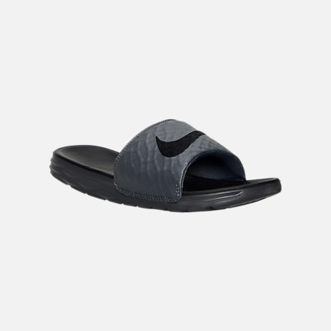 Three Quarter view of Men's Nike Benassi Solarsoft Slide 2 Slide Sandals