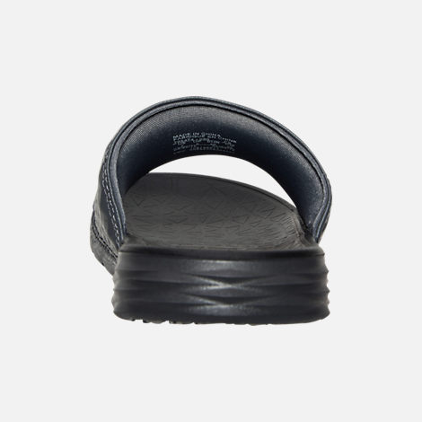 Back view of Men's Nike Benassi Solarsoft Slide 2 Slide Sandals