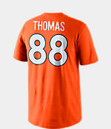 Men's Nike Denver Broncos NFL Demaryius Thomas Name and Number T-Shirt