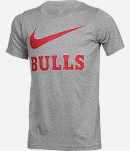 Kids' Nike Chicago Bulls NBA Swoosh T-Shirt