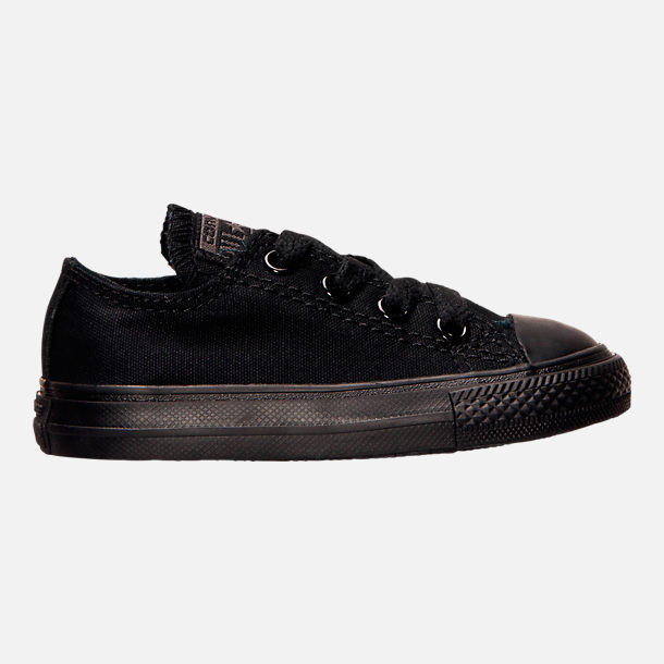50649a4a3144f4 Right view of Boys  Toddler Converse Chuck Taylor Ox Casual Shoes in  Black Black