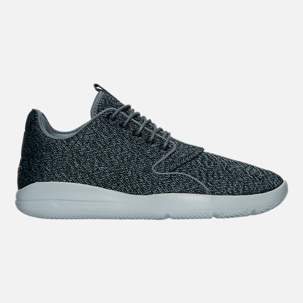 Right view of Men's Air Jordan Eclipse Off Court Shoes in Cool Grey/Black/Wolf Grey