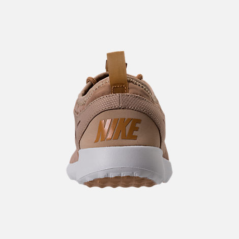 Back view of Women's Nike Juvenate Casual Shoes in Mushroom/Elemental Gold/Summit White