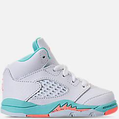 Kids' Toddler Air Jordan Retro 5 Basketball Shoes