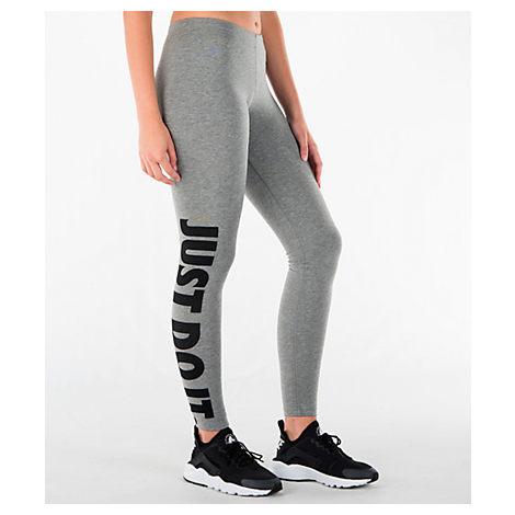 WOMEN'S LEG-A-SEE JUST DO IT LEGGINGS, GREY