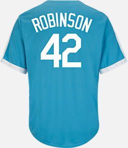 Men's Majestic Los Angeles Dodgers MLB Jackie Robinson Cooperstown Jersey
