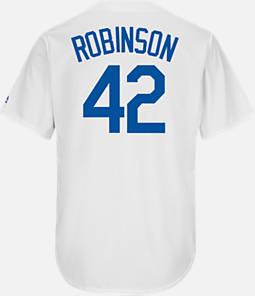 Men's Majestic Los Angeles Dodgers MLB Jackie Robinson Throwback Jersey