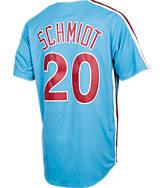 Men's Majestic Philadelphia Phillies MLB Mike Schmidt Throwback Jersey