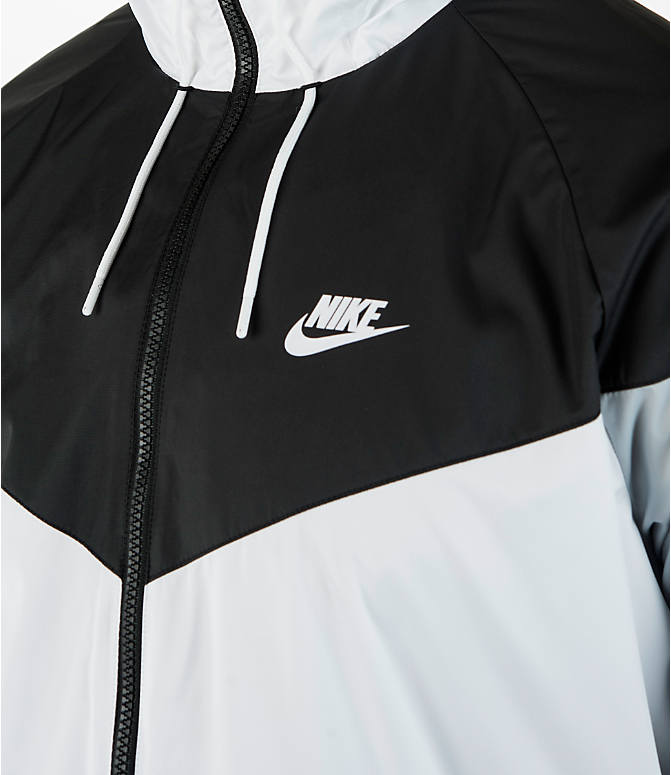 Detail 1 view of Men's Nike Sportswear Windrunner Full-Zip Jacket in White