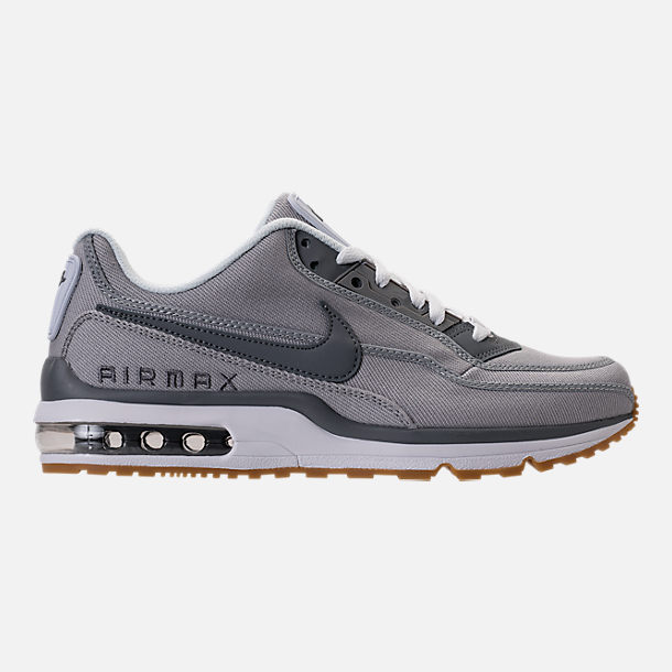 Right view of Men's Nike Air Max LTD 3 Running Shoes in Wolf Grey/Cool Grey/White
