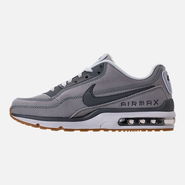 ff1eac11ec ... wholesale left view of mens nike air max ltd 3 running shoes in wolf  grey cool