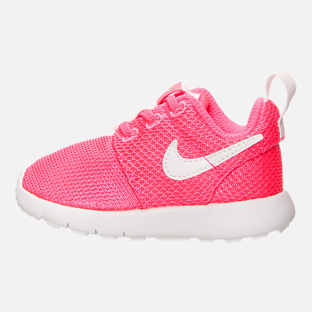 848ceb42ec Left view of Girls' Toddler Nike Roshe One Casual Shoes