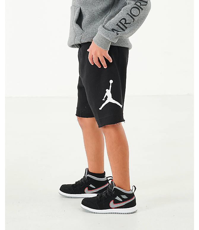 watch be795 efdfe Boys' Toddler Jordan Jumpman Air Fleece Shorts
