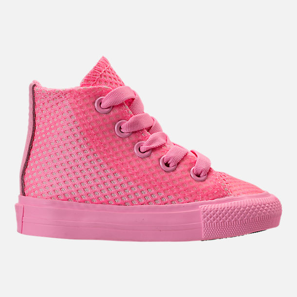 Right view of Girls  Toddler Converse Chuck Taylor All Star Hi Casual Shoes c97275e7c