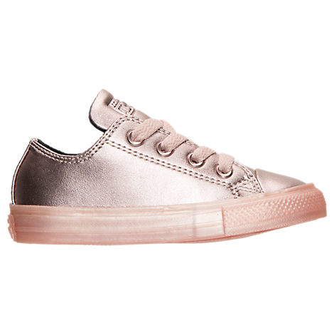 converse shoes for girls. girls\u0027 toddler converse chuck taylor all star ox leather metallic casual shoes for girls