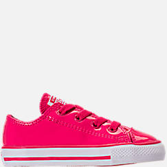 Girls' Toddler Converse Chuck Taylor All Star Leather Ox Casual Shoes
