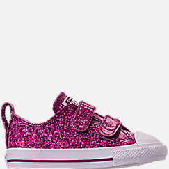 666a2b08819 Girls  Toddler Converse Chuck Taylor Party Dress Low Casual Shoes