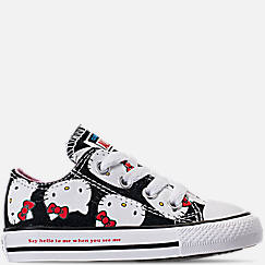 Girls' Toddler Converse Chuck Taylor All Star Hello Kitty Ox Casual Shoes
