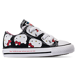Image of GIRLS' TODDLER CONVERSE CHUCK TAYLOR ALL STAR OX HELLO KITTY