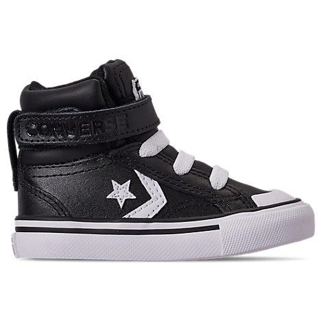 Converse Boys Toddler Pro Blaze Strap Hi Casual Shoes, Black