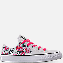 Girls' Toddler Converse Chuck Taylor All Star Ox Hook-and-Loop Casual Shoes