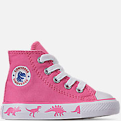 02f76b7ff2fbe6 Girls  Toddler Converse Chuck Taylor All Star Dinoverse High Top Casual  Shoes