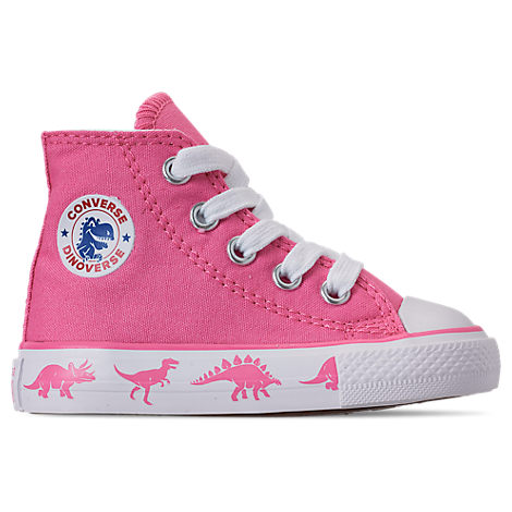 Shop Converse Pink Chuck Taylor All Star Dinoverse Sneakers