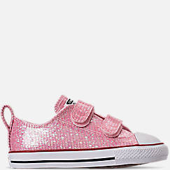 dd49acfd534c Girls  Toddler Converse Chuck Taylor All Star Ox Hook-and-Loop Casual Shoes