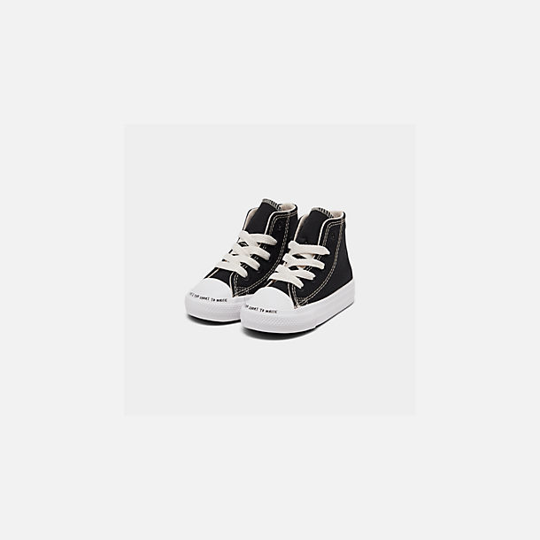 6f427bb51bc Three Quarter view of Boys' Toddler Converse Chuck Taylor All Star Renew  High Top Casual