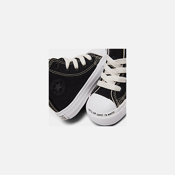 262d881012b Front view of Boys' Toddler Converse Chuck Taylor All Star Renew High Top  Casual Shoes