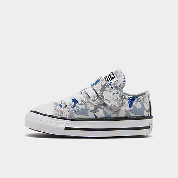 Boys' Toddler Converse Shark Bite Chuck Taylor All Star Hook and Loop Casual Shoes