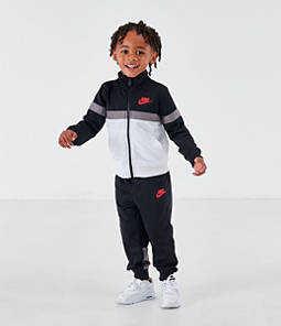 Boys' Toddler Nike Colorblock Tricot Track Jacket and Pants Set