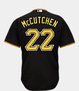 Men's Majestic Pittsburgh Pirates MLB Andrew McCutchen Replica Jersey