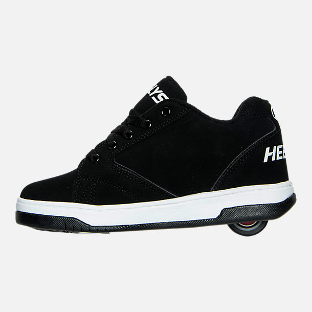 Left view of Boys' Grade School Heelys Propel 2.0 Wheeled Skate Shoes in 004