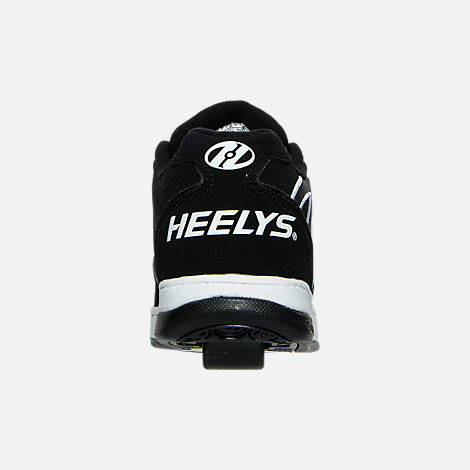 Back view of Boys' Grade School Heelys Propel 2.0 Wheeled Skate Shoes in 004