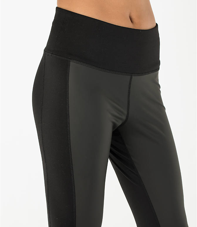 Detail 1 view of Women's Activ8 Urban Training Tights in Deep Black