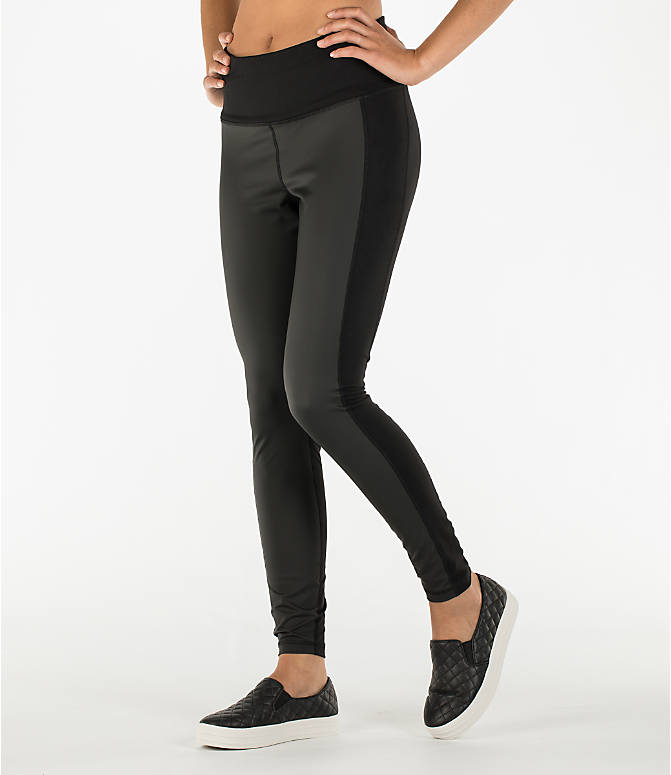 Front view of Women's Activ8 Urban Training Tights in Deep Black