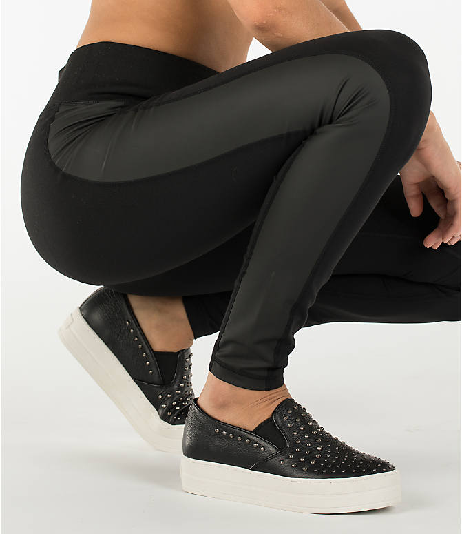 Detail 2 view of Women's Activ8 Urban Studio Jean Leggings in Deep Black