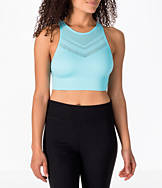 Women's Activ8 Seamless High Neck Mesh Sports Bra