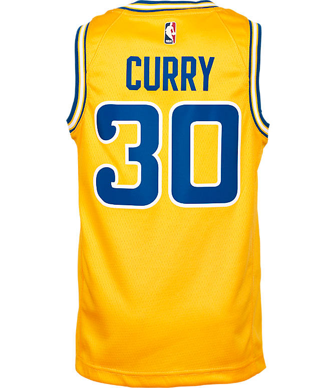 ... authentic front view of kids nike golden state warriors nba stephen  curry hardwood classics swingman jersey 917290a24
