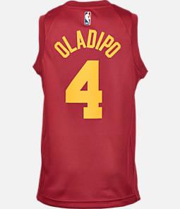 ed14330a77ca Kids  Nike Indiana Pacers NBA Victor Oladipo Hardwood Classics Swingman  Jersey