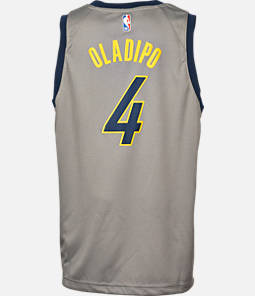 1758fe9ee Kids  Nike Indiana Pacers NBA Victor Oladipo City Edition Swingman  Connected Jersey