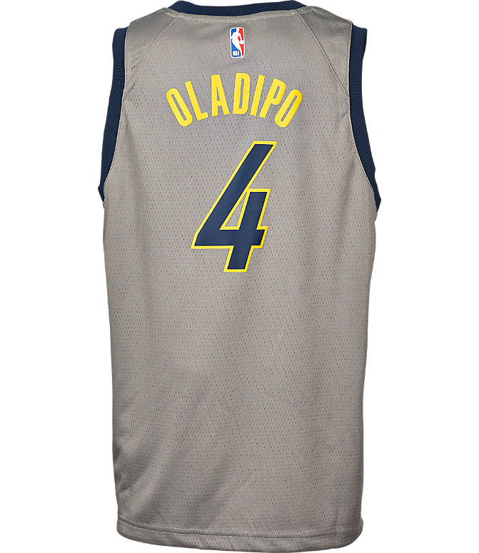 new style a7120 56867 Kids' Nike Indiana Pacers NBA Victor Oladipo City Edition Swingman  Connected Jersey
