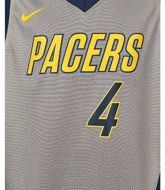 new style f748f 6d47b Kids' Nike Indiana Pacers NBA Victor Oladipo City Edition Swingman  Connected Jersey
