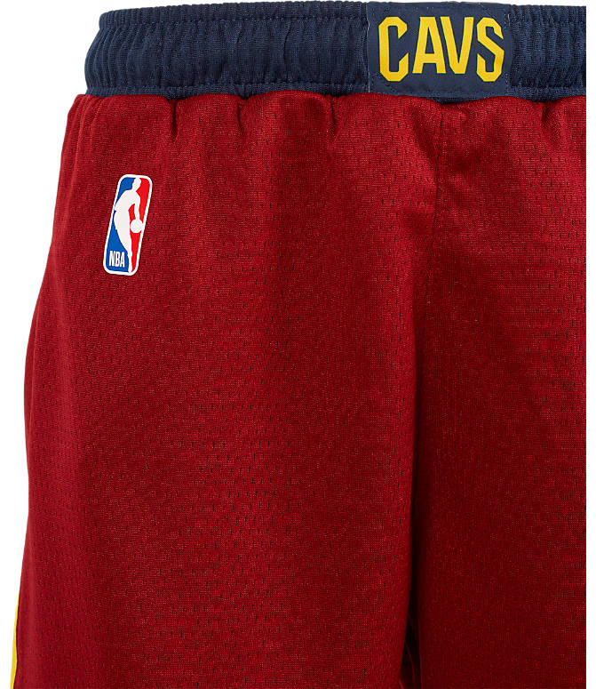 df9e4c549d6 Back view of Kids  Nike Cleveland Cavaliers NBA Swingman Shorts in Team Red