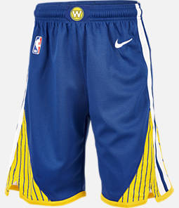 Kids' Nike Golden State Warriors NBA Swingman Shorts