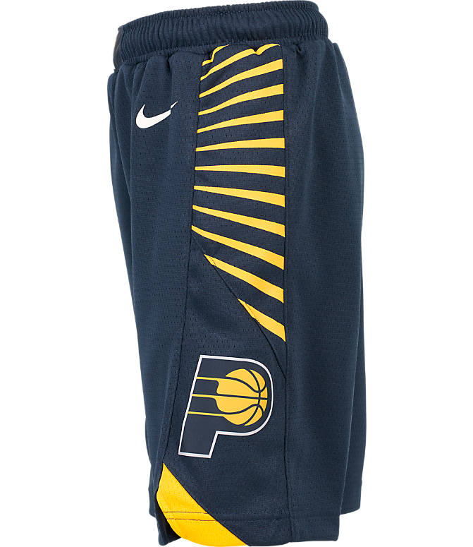 Product 3 view of Kids' Nike Indiana Pacers NBA Swingman Shorts in Navy
